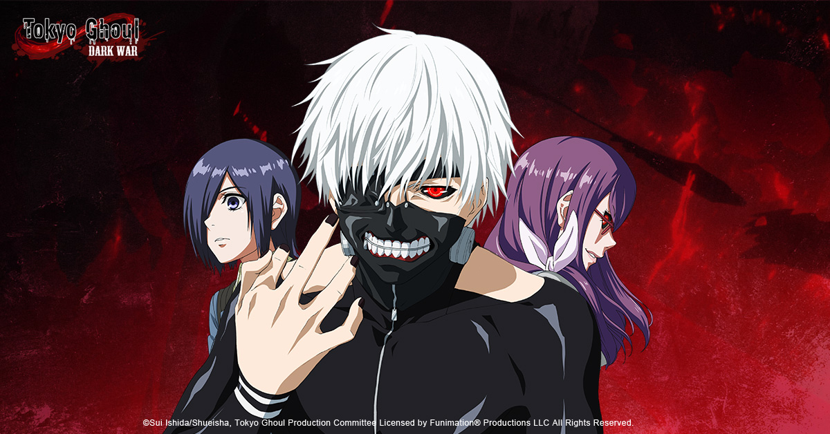 3d Mobile Game Based On Tokyo Ghoul Officially Authorized By Studio